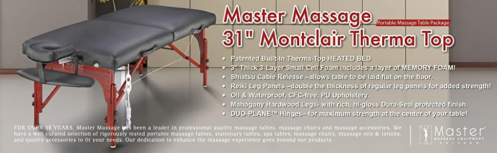 Master Massage Therma Top Massage Table